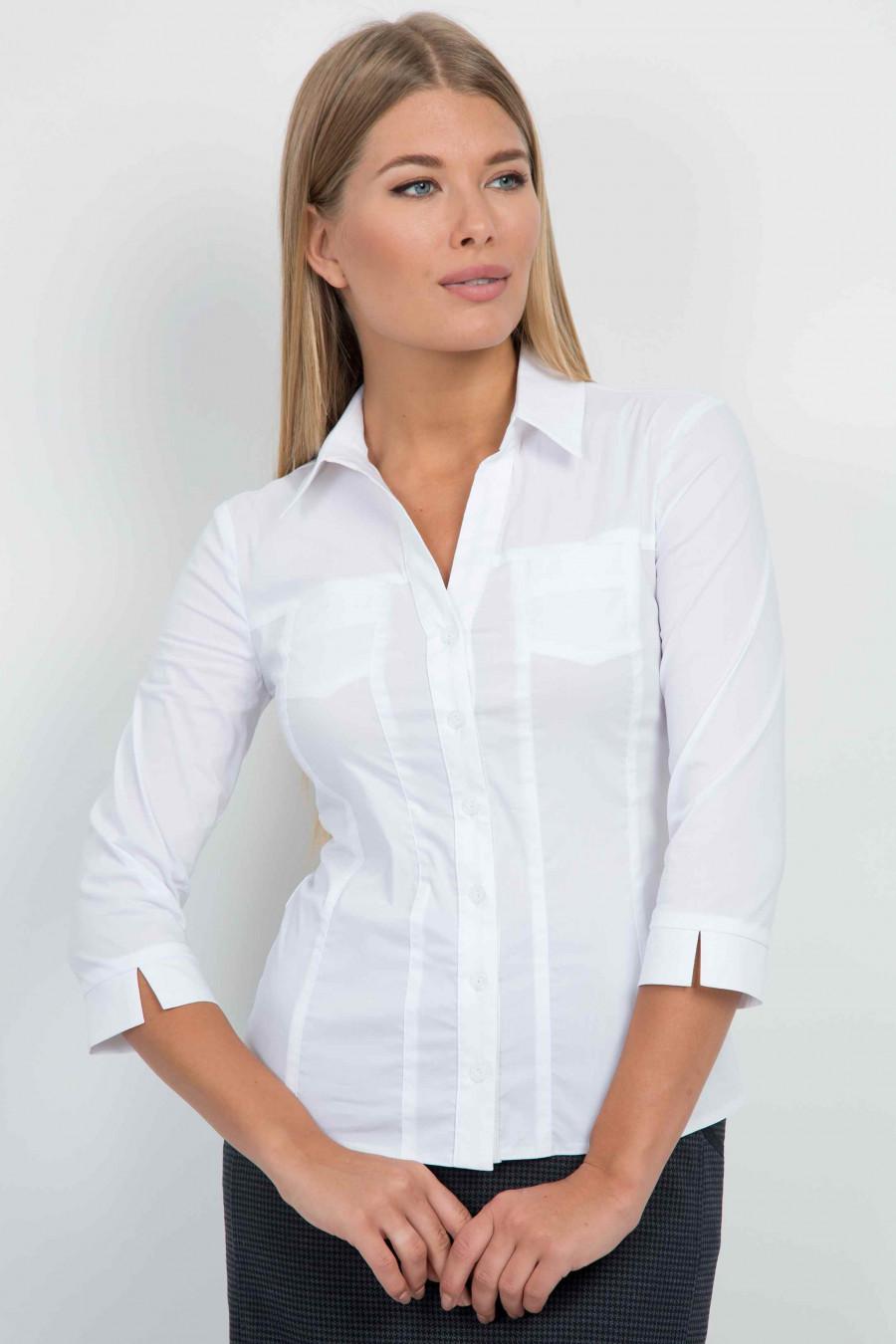 Купить Белую Блузку Для Офиса Доставка