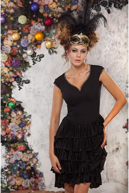 Платье Art Ribbon M1033-black