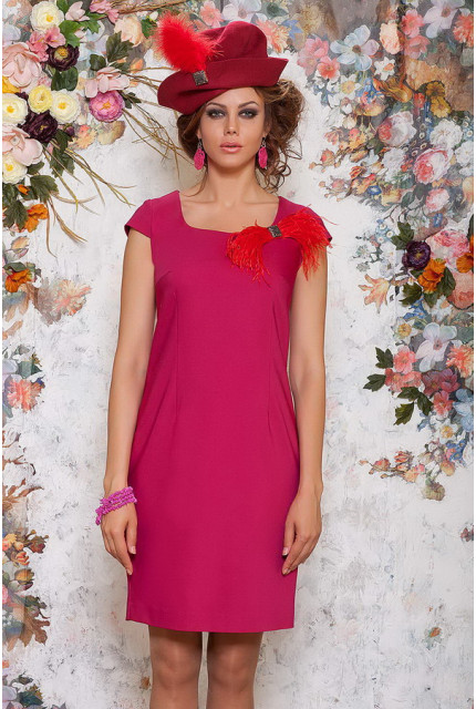 Платье Art Ribbon M1046-fuksia