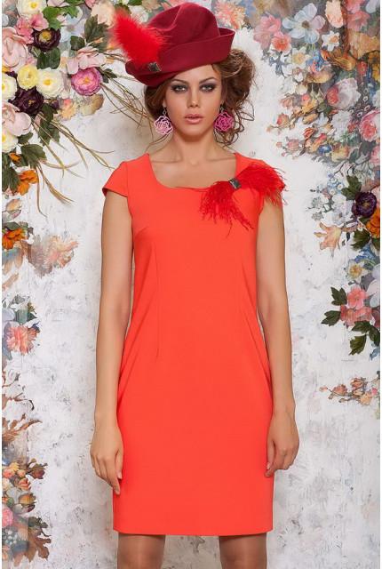 Платье Art Ribbon M1046-orange