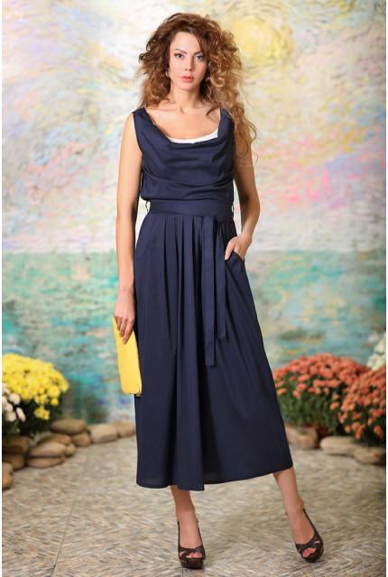 Платье Art Ribbon M2080P1001-blue