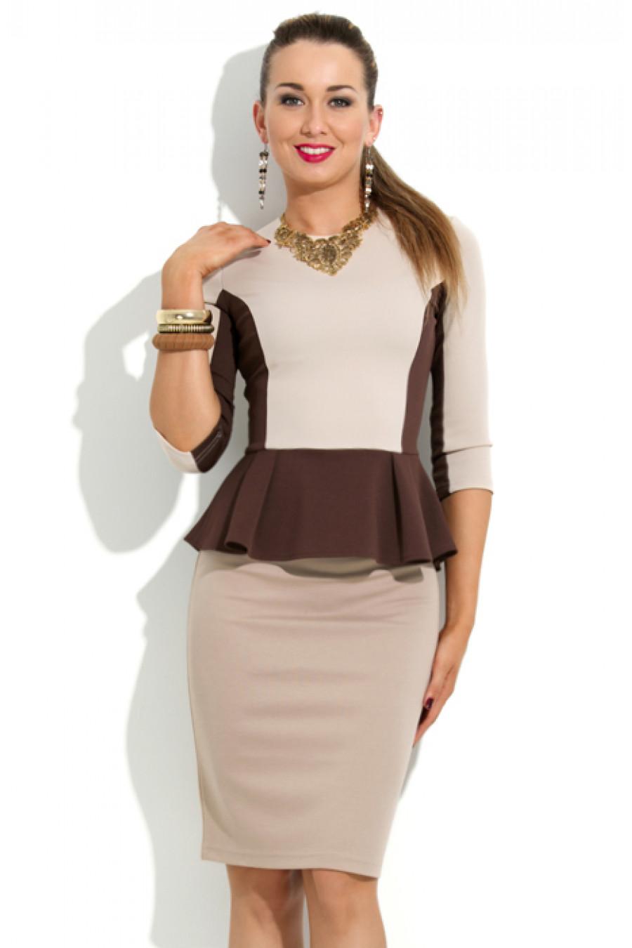 Блузка С Баской Фото