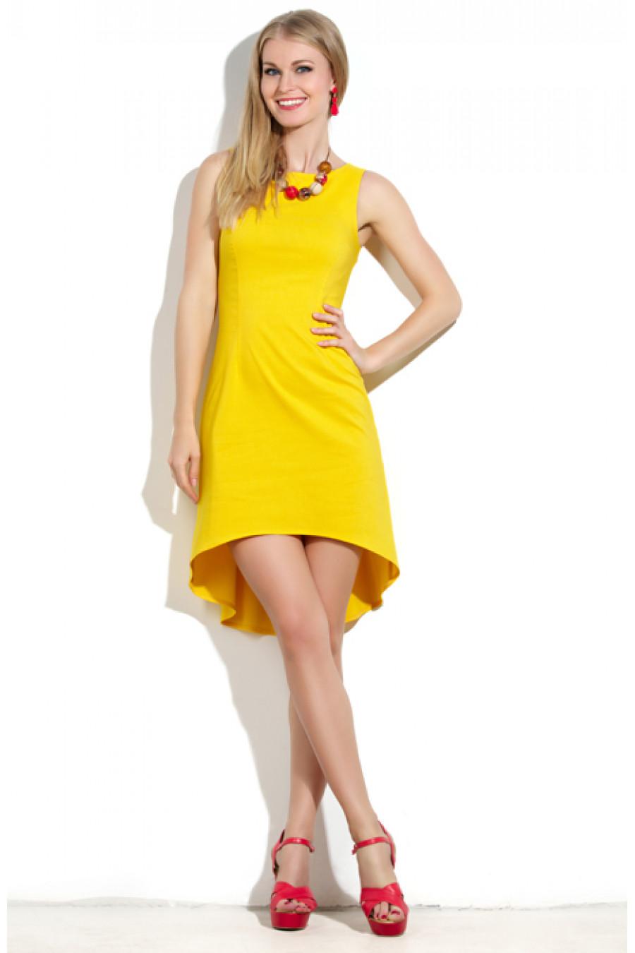 Бело Желтое Платье С Доставкой