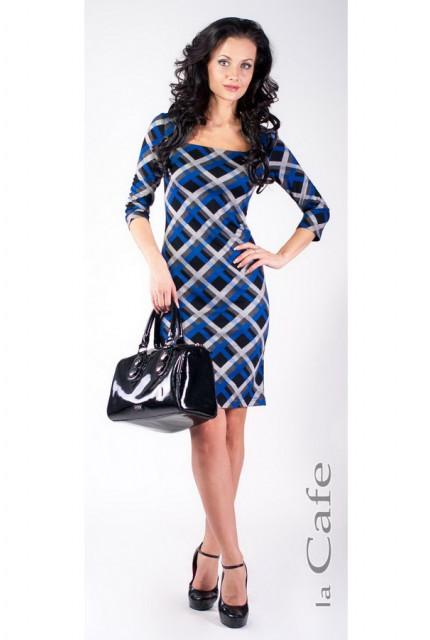 Платье Laskany 3516-blue