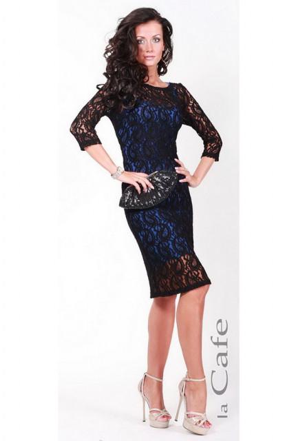 Платье Laskany 3537-blue