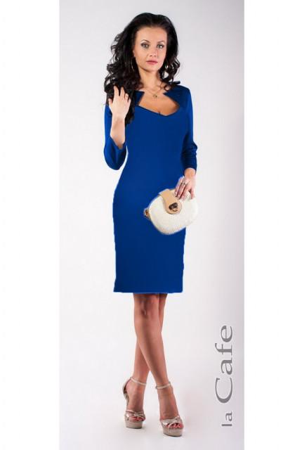 Платье Laskany 3541-blue
