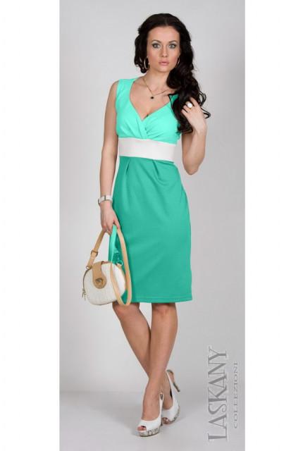Платье Laskany 1187-green
