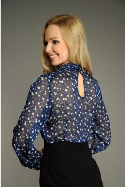 Блуза Stella Di Mare 100-13-siniy