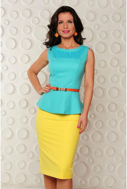 Блуза Stella Di Mare 103-13-зелень