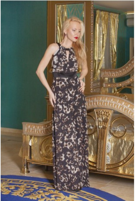 Платье Stella Di Mare 1088-12-shokolad