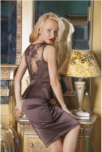 Платье Stella Di Mare 1095-12-shokolad