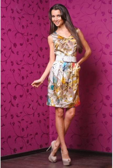 Платье Stella Di Mare 3740-bejev