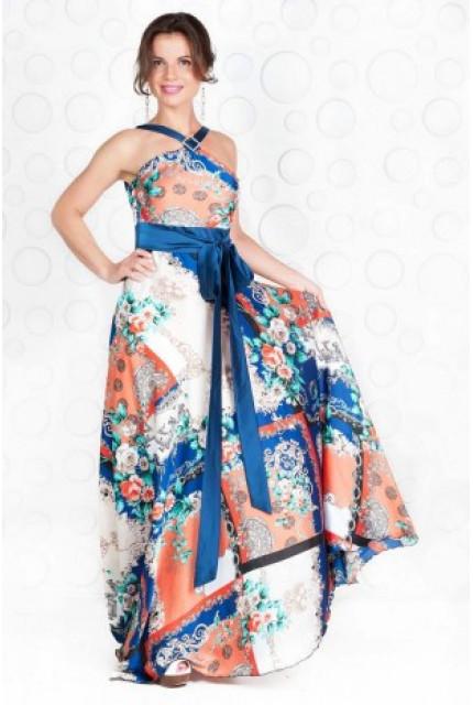 Платье Stella Di Mare 667-13-siniy