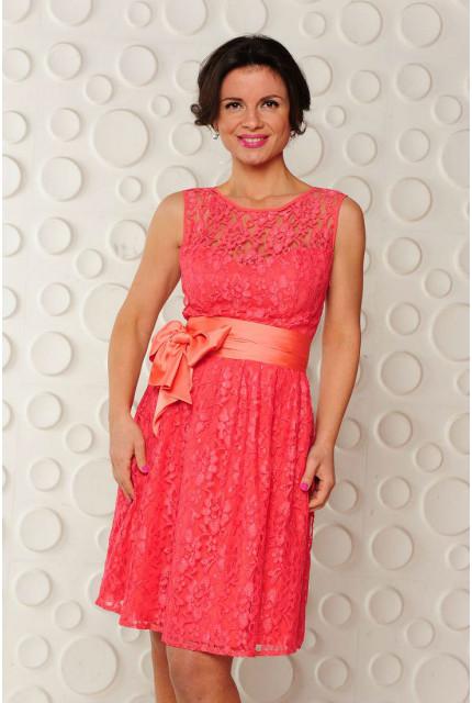Платье Stella Di Mare 701-13-коралловое