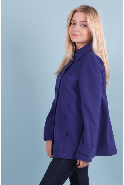 Пальто Stella Di Mare 70332-blue