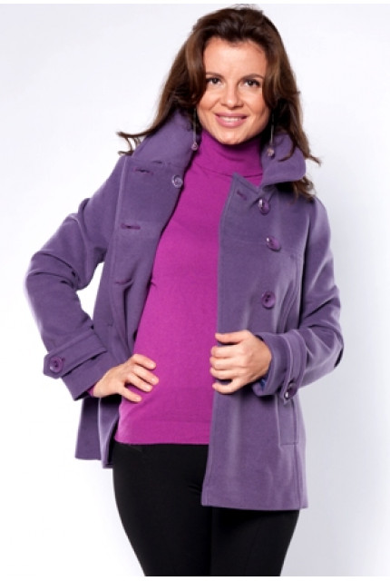 Пальто Stella Di Mare 70332-fiolet
