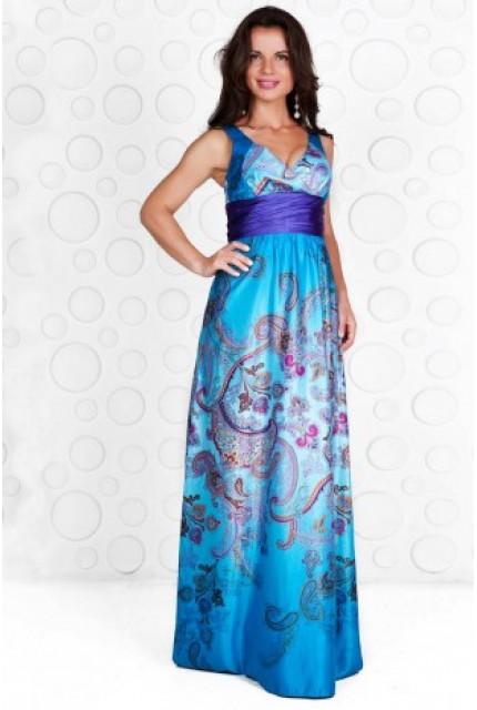 Платье Stella Di Mare 728-13-siniy
