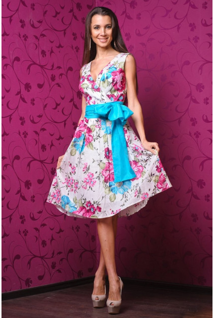Платье Stella Di Mare 734-1-роза