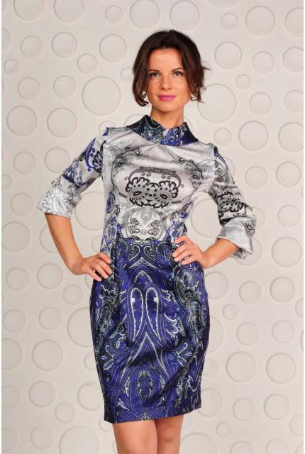Платье Stella Di Mare 818-14-blue