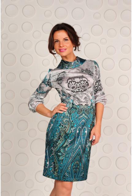 Платье Stella Di Mare 818-14-green