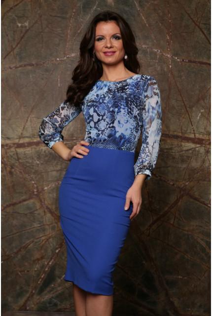 Платье Stella Di Mare 838-14-blue