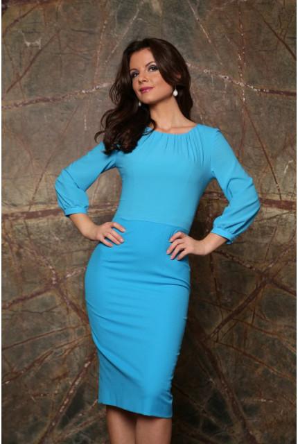Платье Stella Di Mare 838-14-goluboi