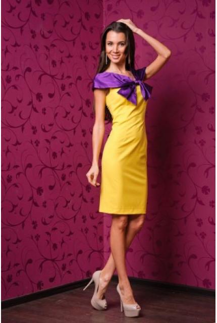 Платье Stella Di Mare 901-zheltyy