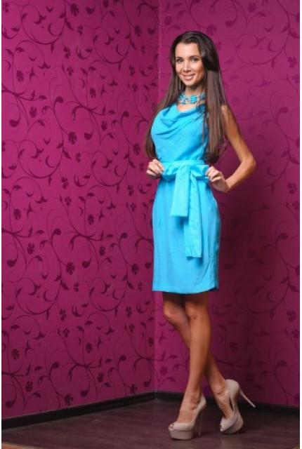 Платье Stella Di Mare 904-goluboy