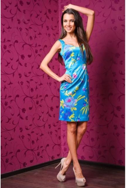 Платье Stella Di Mare 945-goluboy