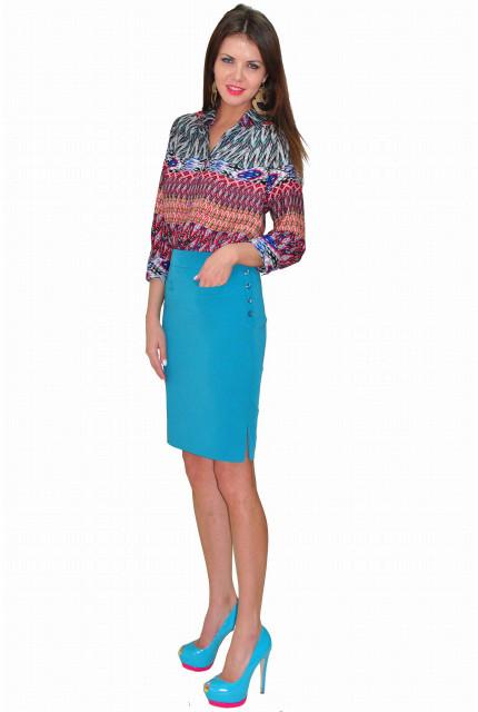 Блуза TAU KITA 3103-goluboi