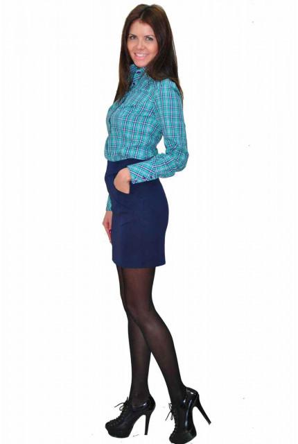 Блуза TAU KITA 3104-blue