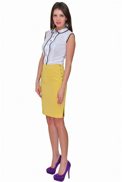 Блуза TAU KITA 3105-belyi