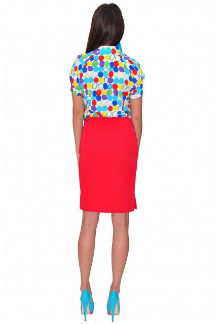 Блуза TAU KITA 3107-1-goluboi
