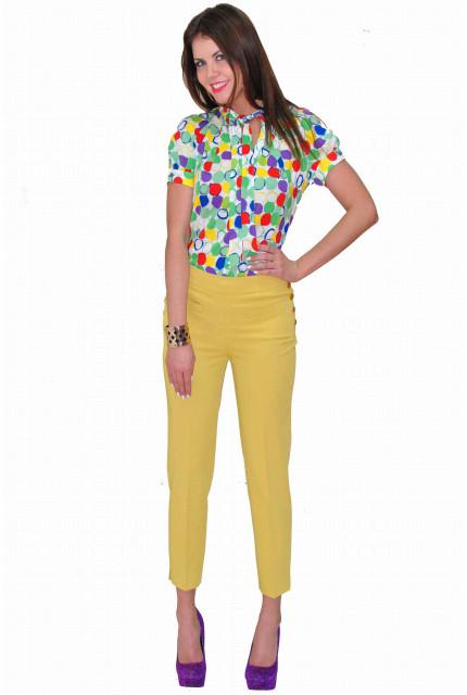 Блуза TAU KITA 3107-1-zelenyi