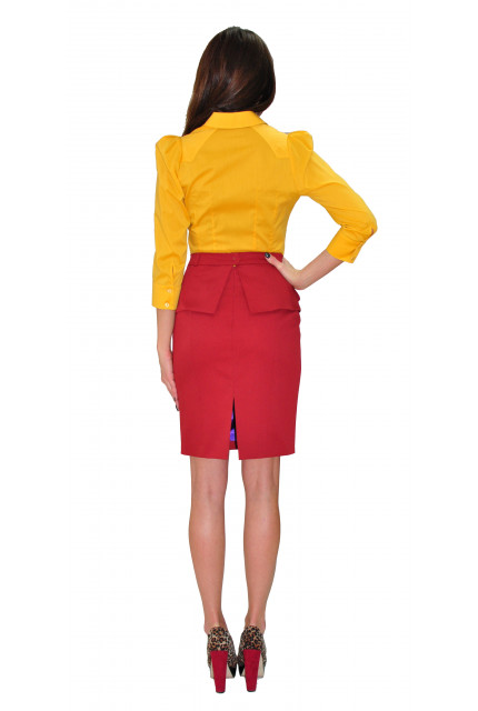 Блуза TAU KITA 393-yellow