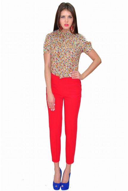Блуза TAU KITA 394-1-krasnyi