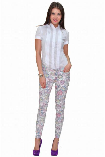 Блуза TAU KITA 397-1-belyi