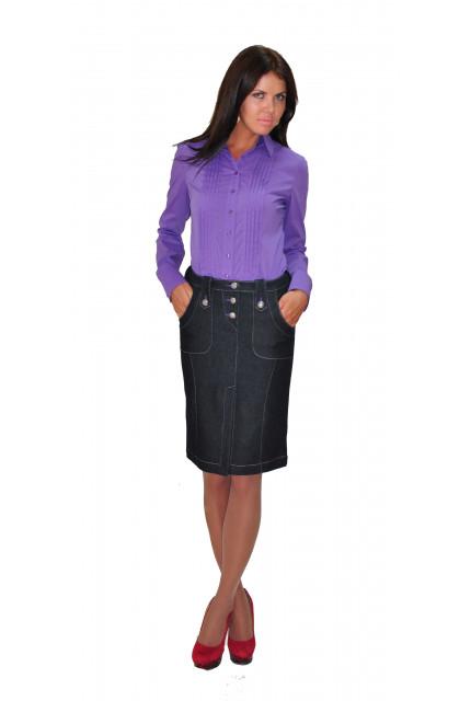 Блуза TAU KITA 397-fiolett