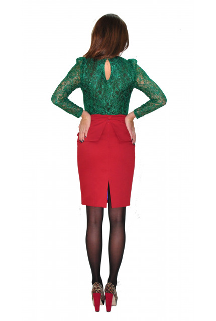 Блуза TAU KITA 398-green