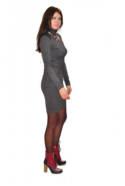 Платье TAU KITA 4121-1-gray