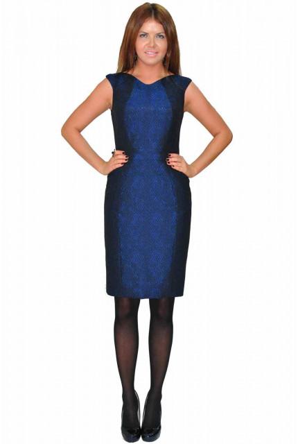 Платье TAU KITA 4141-blue