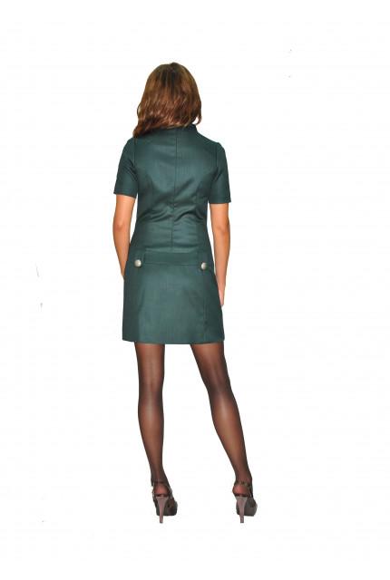 Платье TAU KITA 4151-green