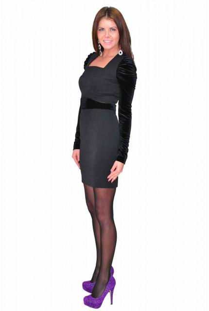 Платье TAU KITA 4166-2-black