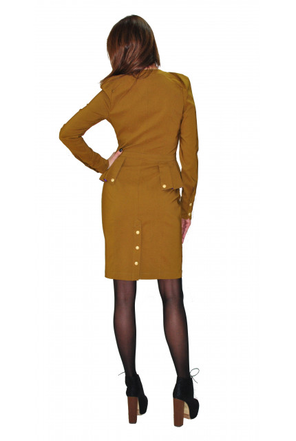 Платье TAU KITA 4170-gorchichny