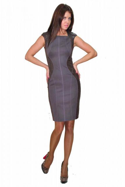 Платье TAU KITA 4183-grey
