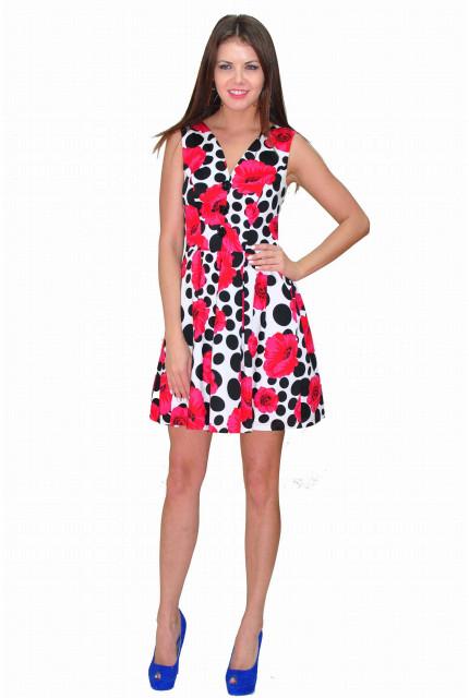 Платье TAU KITA 4200-krasnyi
