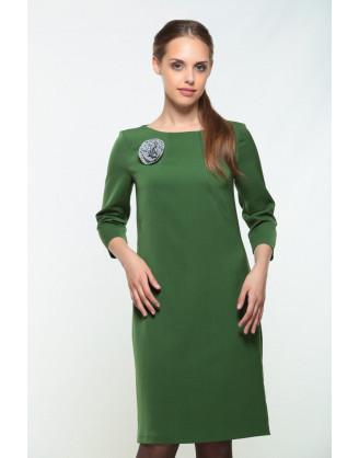 Платье Bravissimo 162550-изумрудный