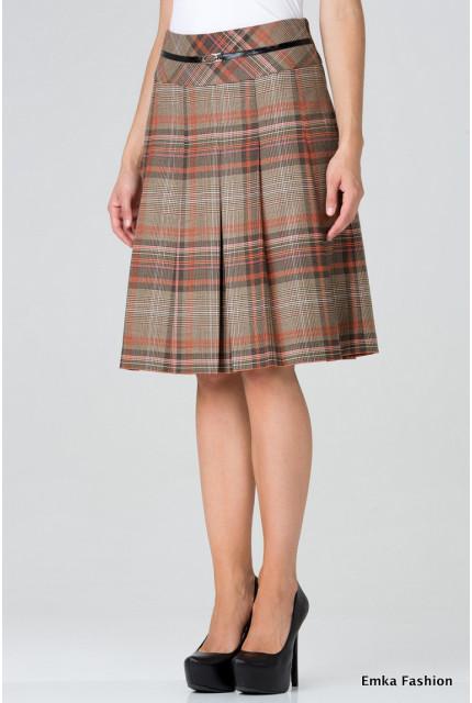 Юбка Emka Fashion 219-60-tekila