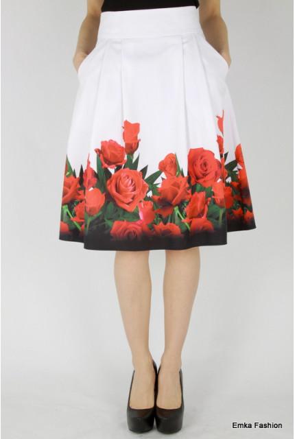 Юбка Emka Fashion 247-rozmarin