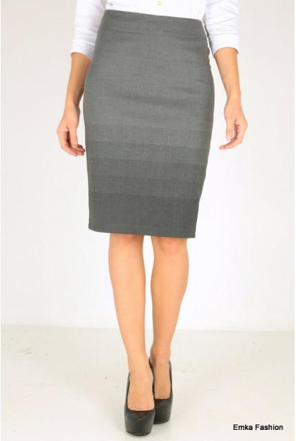 Юбка Emka Fashion 264-bermuda-gray